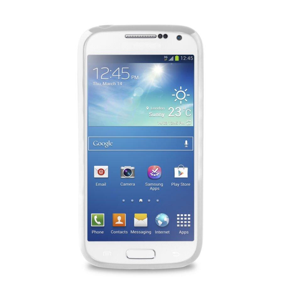 Cover CLEAR Galaxy S4 Mini - PuroNero