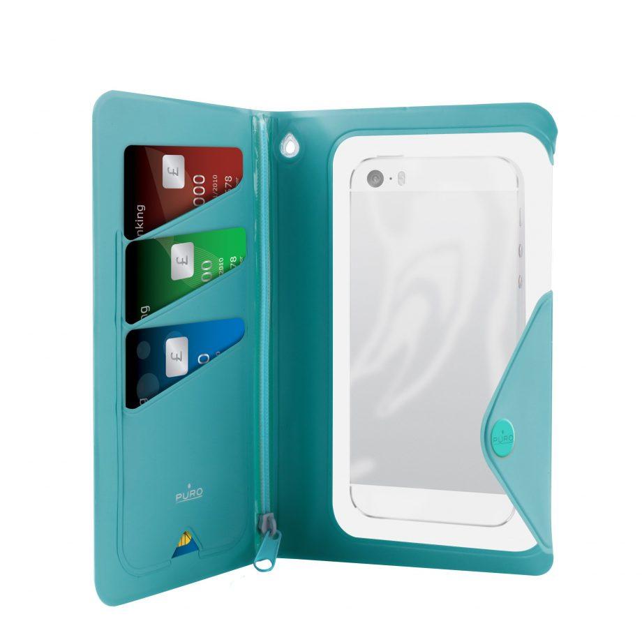 Custodie Water Wallet Booklet universal - Puro