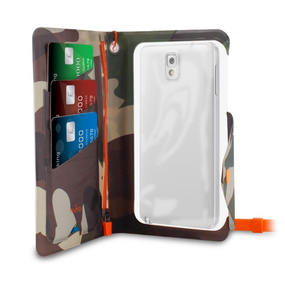 """Custodia Water Wallet Booklet schermo fino a 6.1"""" universal - Puro"""