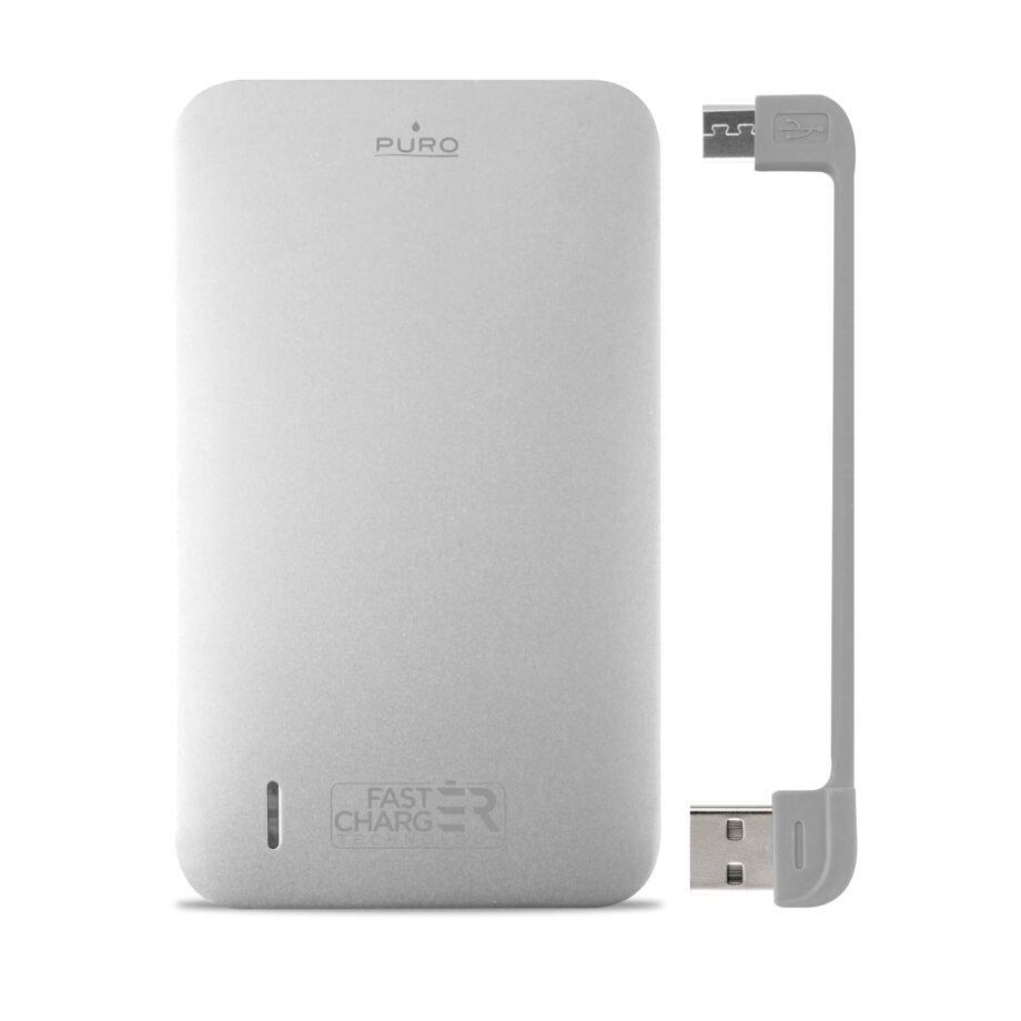 Power Bank da 8100 mAh con Micro USB intergrato-0