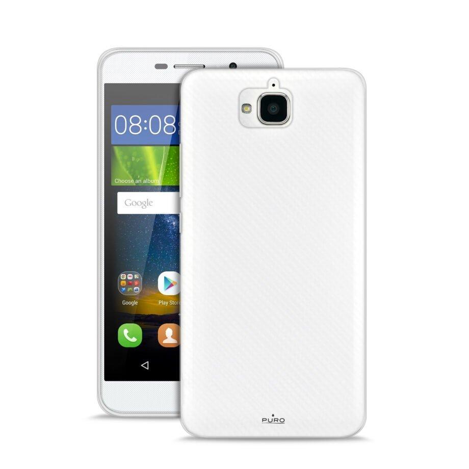 Cover Silicon Huawei Y6 PRO   PuroTrasparente