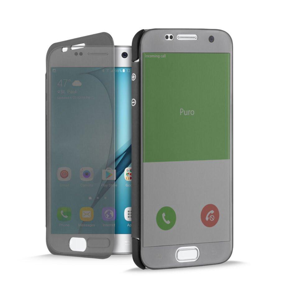 Custodia Sense per Samsung Galaxy S7   PuroNero