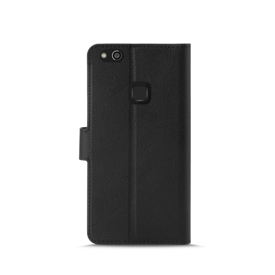 Custodia Wallet in Eco-Pelle per Huawei P10 Lite | PuroNero
