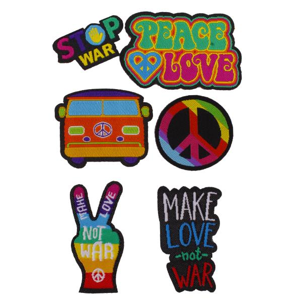 Kit Patch Peace and Love-0