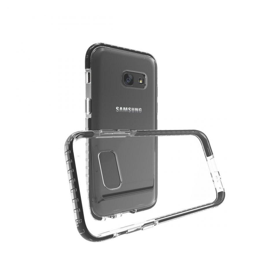 Cover Flex Shield Impact Pro per Samsung Galaxy A3 2017   PuroNero
