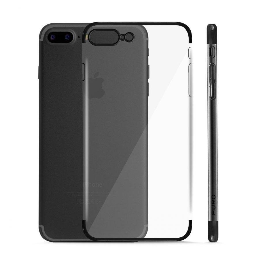 Cover Verge Crystal per iPhone 7 Plus / 8 Plus | PuroNero