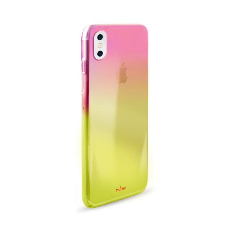 Puro Cover Hologram per iPhone X