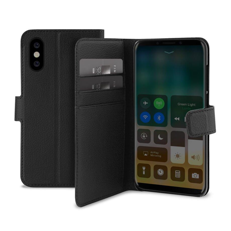 Custodia Wallet per iPhone X/Xs-0
