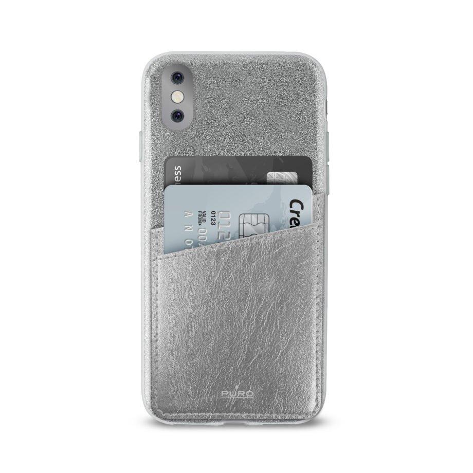 Cover Shine Pocket per iPhone X/Xs-0