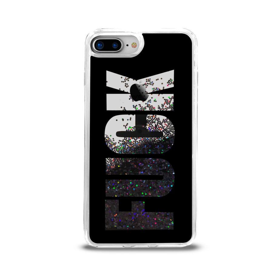Cover Aqua Fuck per iPhone 6 Plus/6S Plus/7 Plus/8 Plus-0
