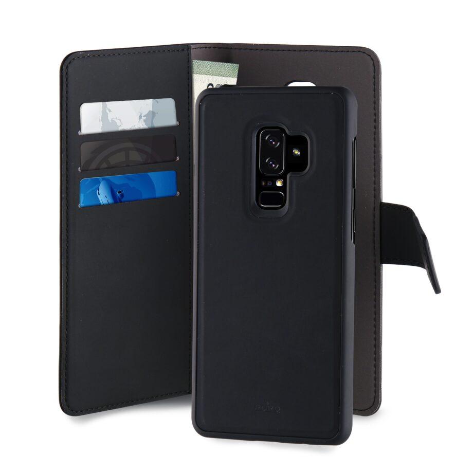 Custodia Detachable per Samsung Galaxy S9+ | PuroNero