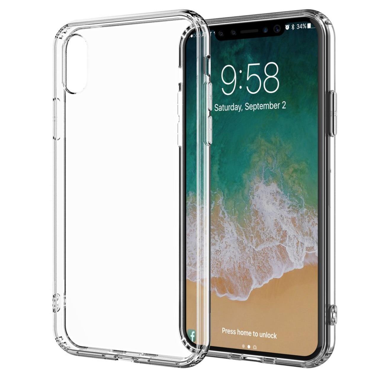 Cover Clear per iPhone Xs Max-0