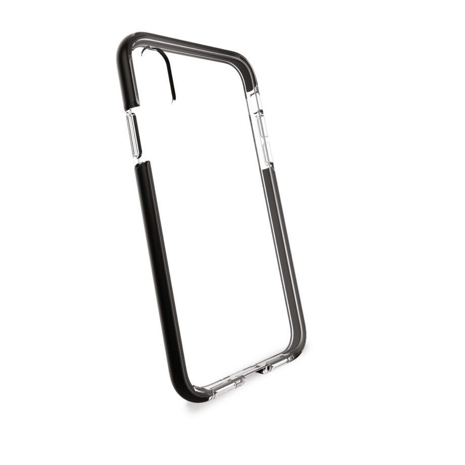 Cover Flex Shield Impact Pro per iPhone Xr | PuroNero / Trasparente