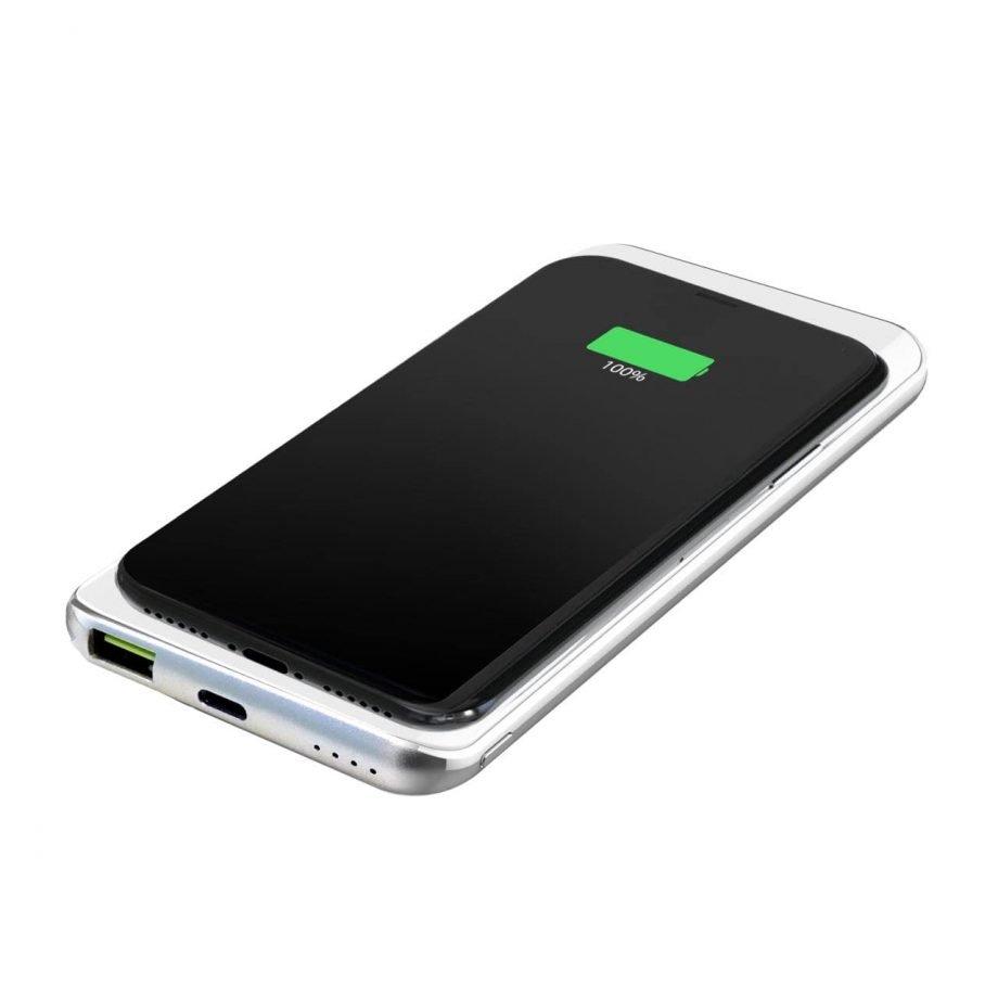 Power Bank Wireless Slim 8000mAh