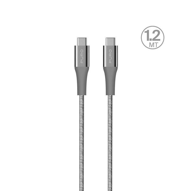 Cavo di ricarica e sincronizzazione con due porte USB-C
