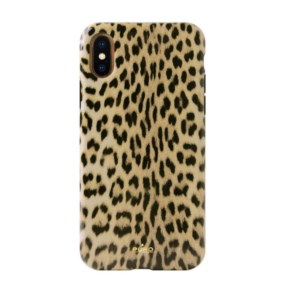 Cover Leopard per iPhone X/Xs-0