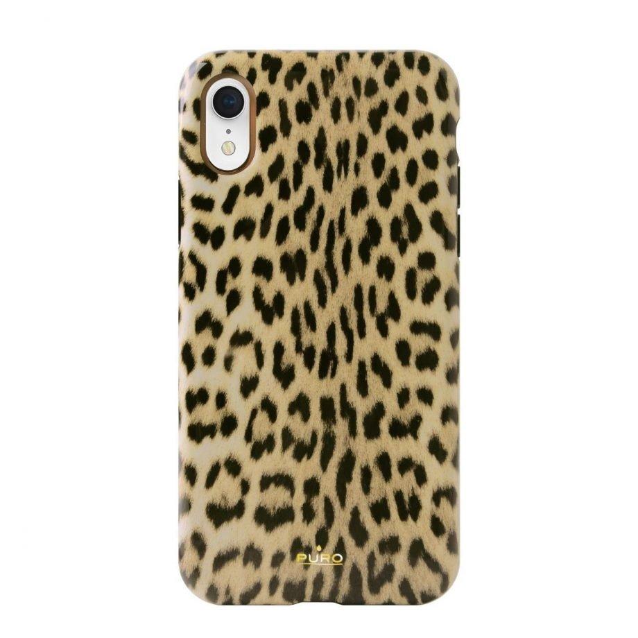 Cover Leopard per iPhone Xr-0