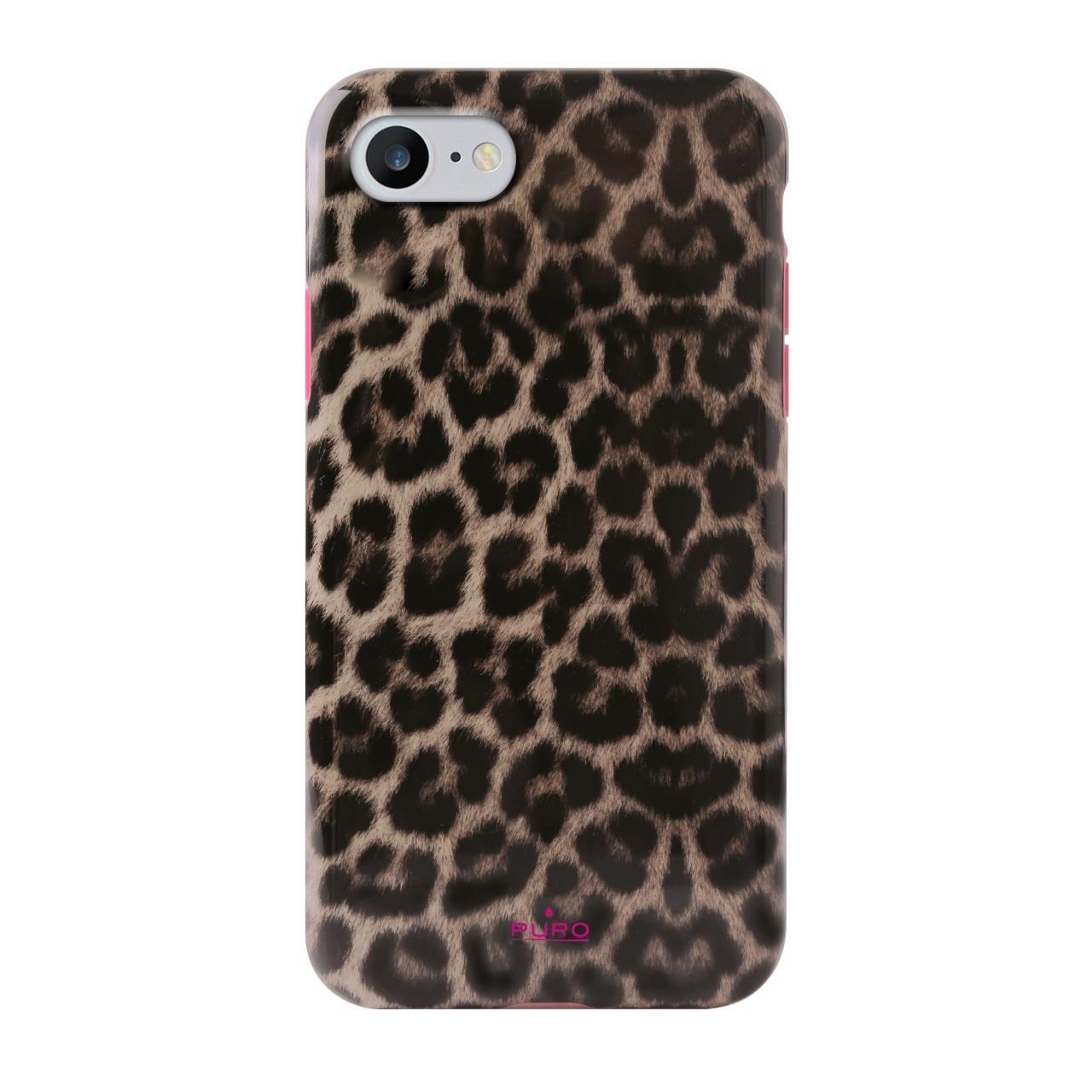 Cover Pink Leopard per iPhone 6/6s/7/8-0