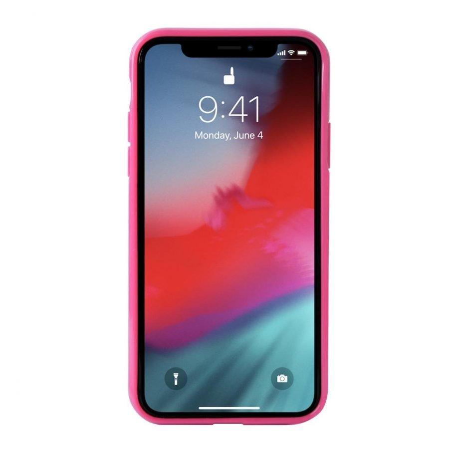 Cover Pink Leopard per iPhone Xs Max | Puro