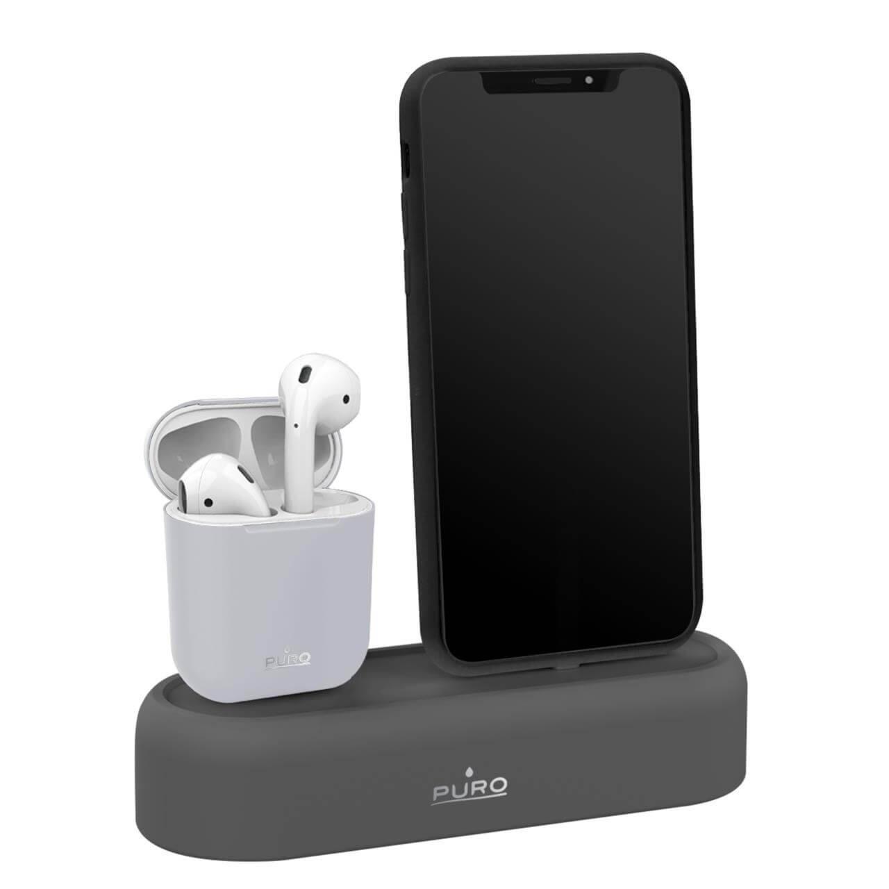 Supporto da tavolo per AirPods e iPhone-0