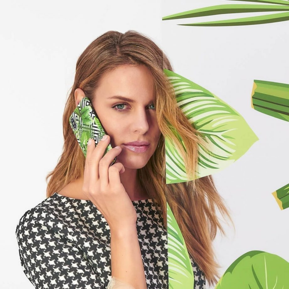 Cover Geometric Jungle iPhone 6/6s/7/8Geometric Jungle
