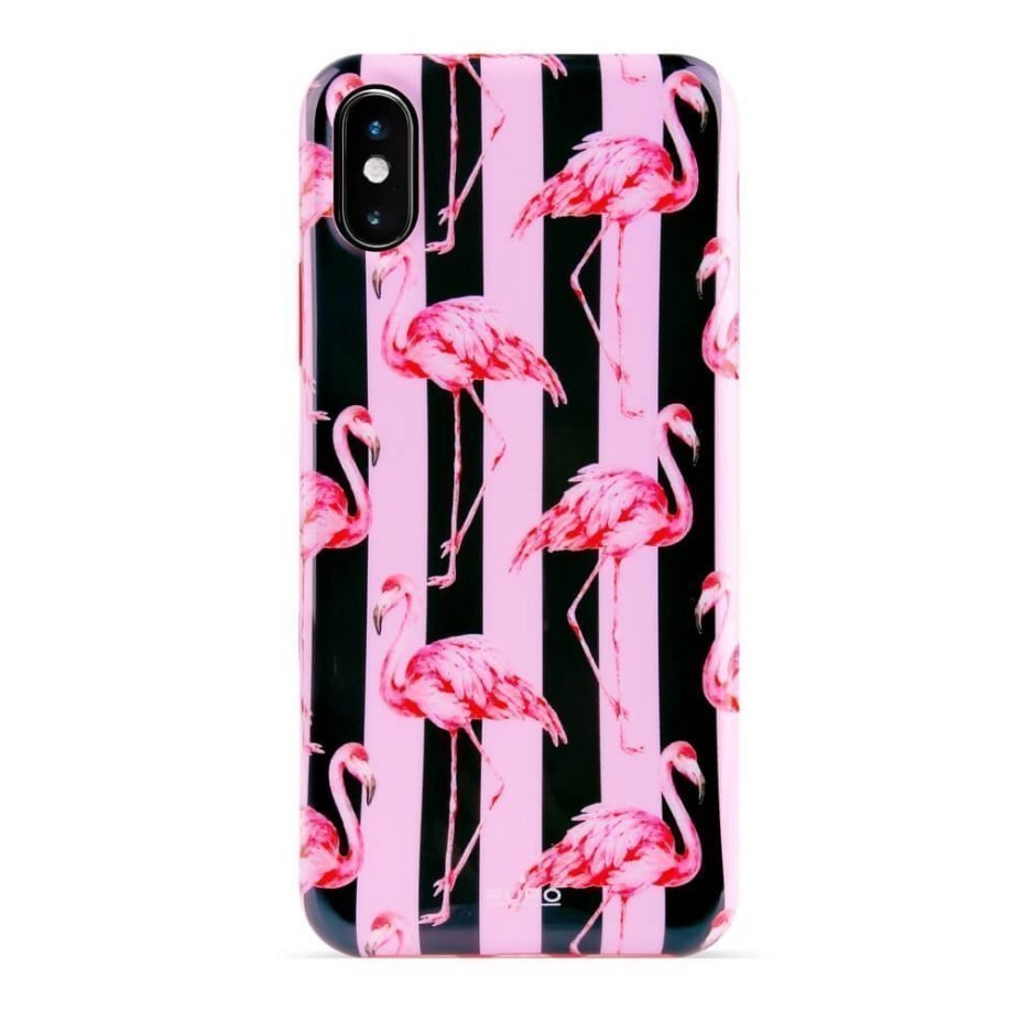 Cover Flamingo per iPhone Xs Max-0