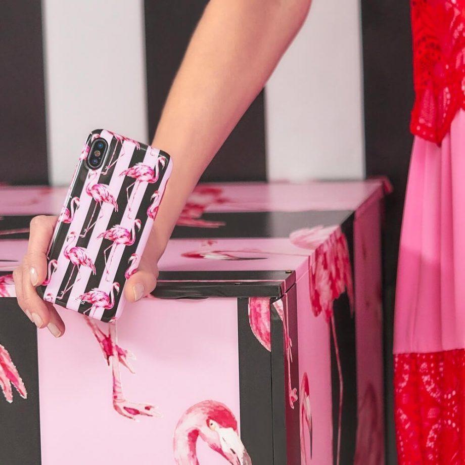Cover Flamingo per iPhone Xs Max | Puro
