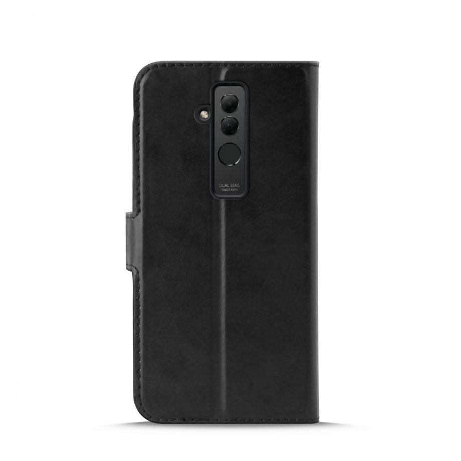 Custodia Wallet in Eco-Pelle per Huawei Mate 20 Lite | PuroNero