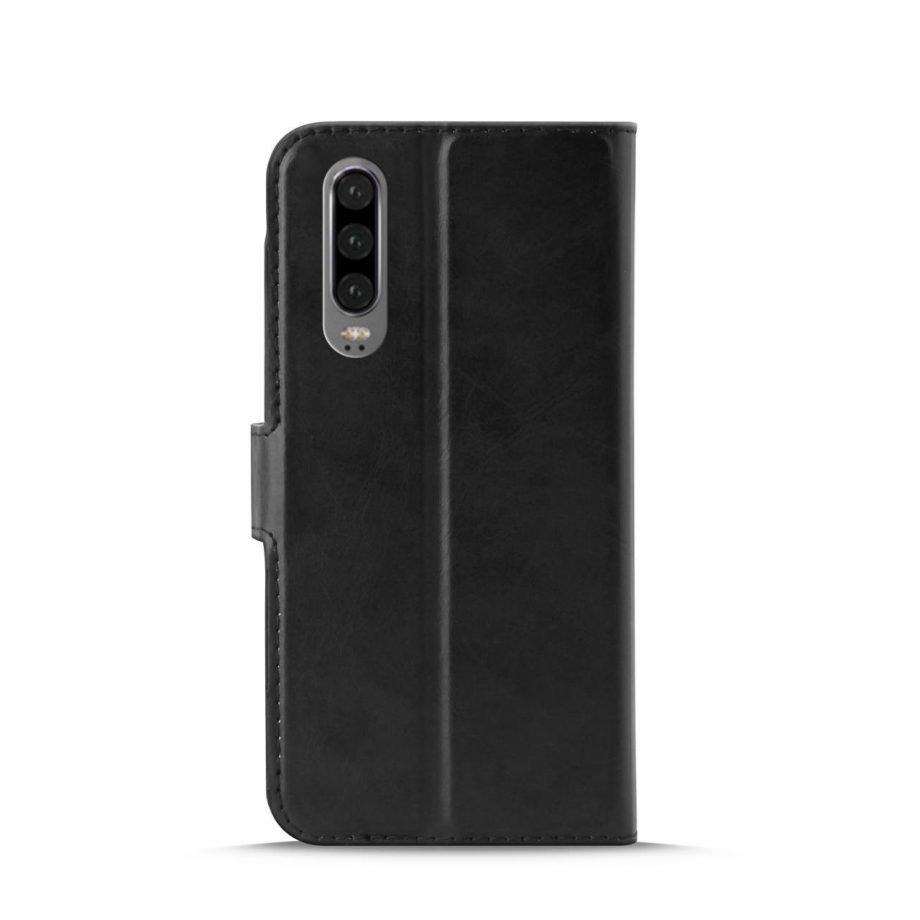Custodia Wallet in Eco-Pelle per Huawei P30 | PuroNero