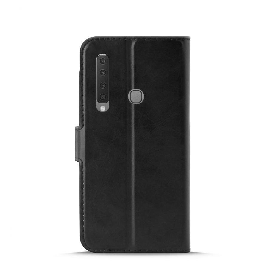Custodia Wallet in Eco-Pelle per Samsung Galaxy A9 2018   PuroNero