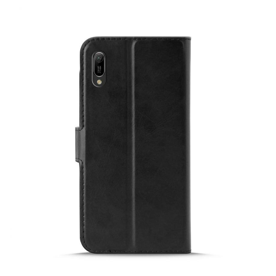 Custodia Wallet in Eco-Pelle per Huawei Y6 2019 | PuroNero
