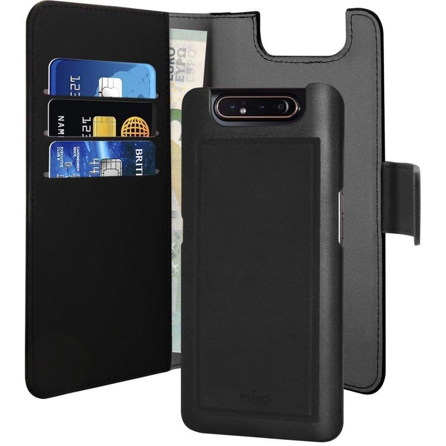 Custodia Detachable per Samsung Galaxy A80 | PuroNero
