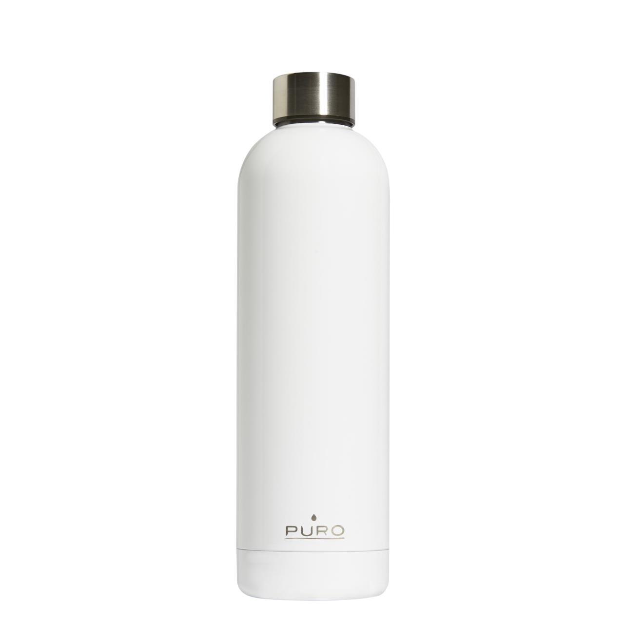 Bottiglia termica Puro Hot&Cold bianco glossy 750 ml