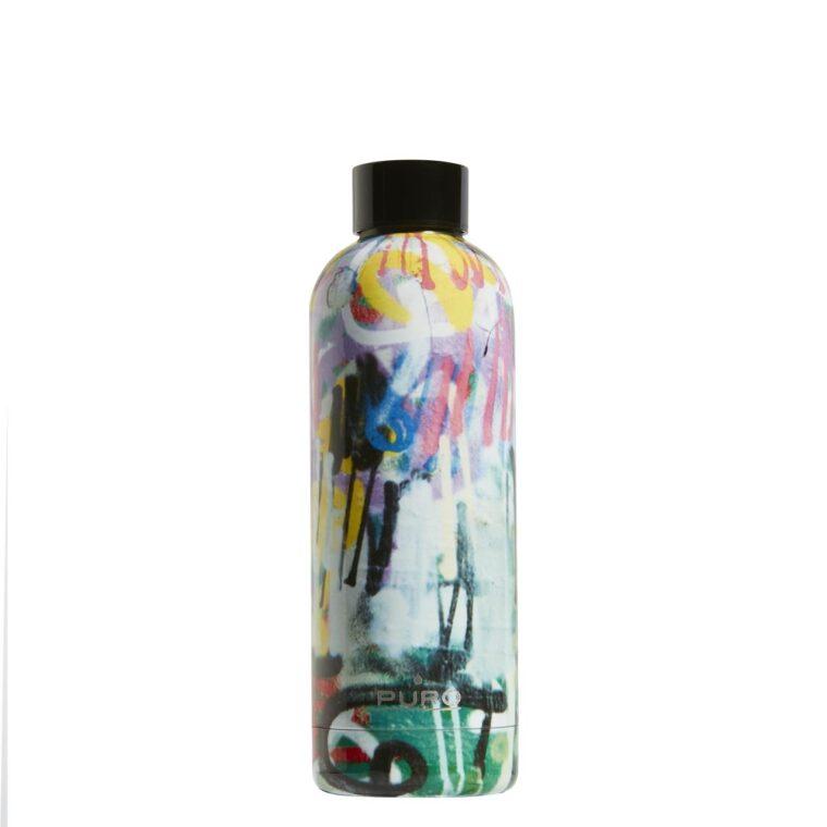 Bottiglia Termica Puro Hot&Cold Texture Art Spray 500ml