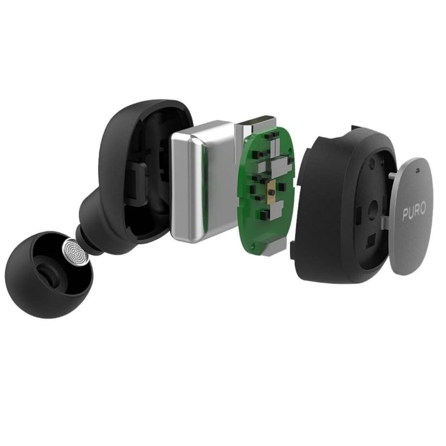 Auricolare Bluetooth V5.0 Pilot | PuroNero