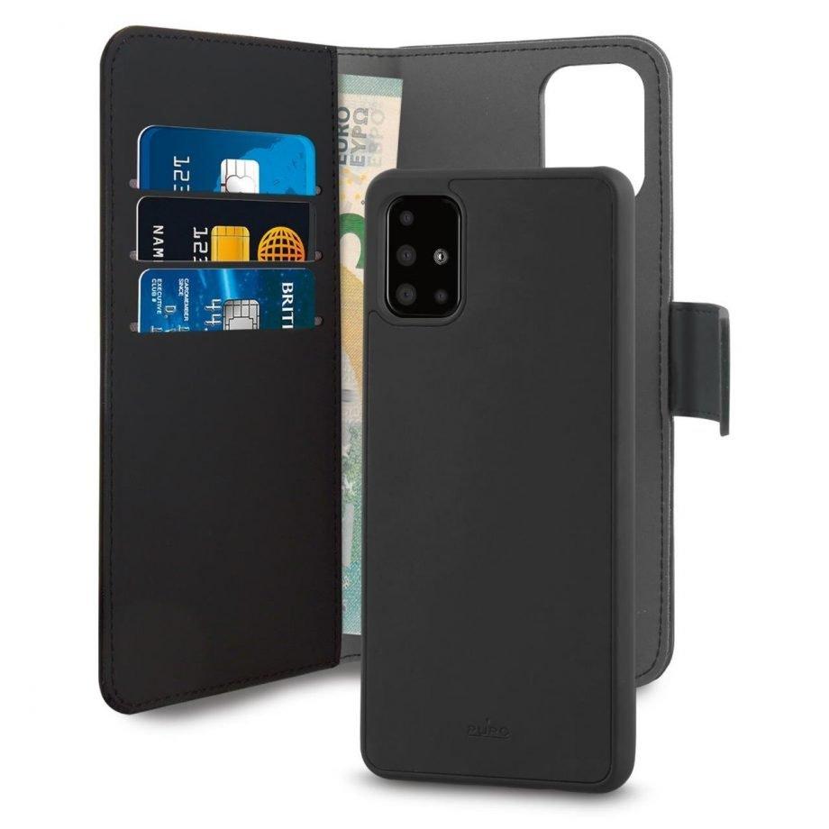 Custodia Detachable per Samsung Galaxy A71 | PuroNero