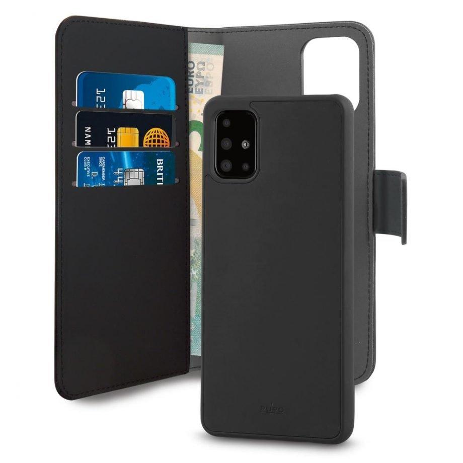 Custodia Detachable per Samsung Galaxy A51 | PuroNero