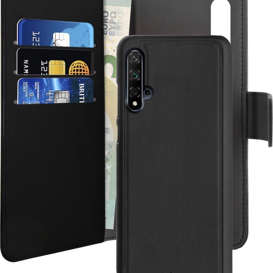 Custodia Detachable per Huawei Nova 5T | PuroNero