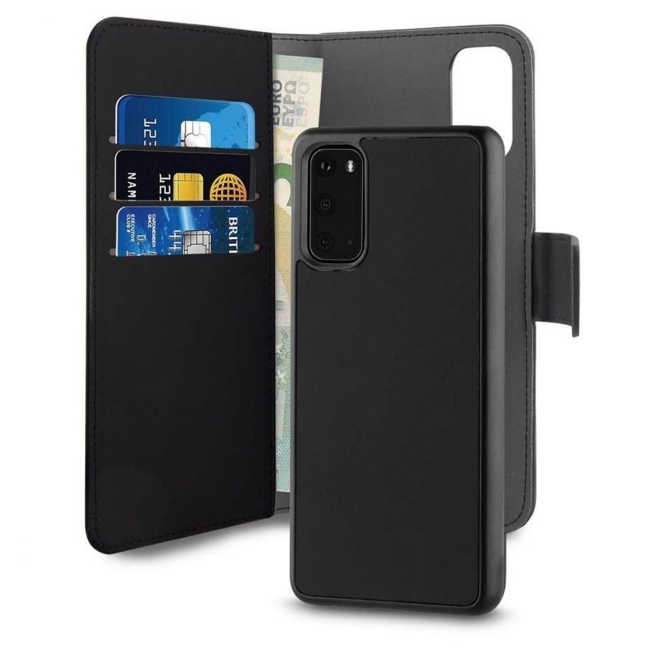 Custodia Detachable per Samsung Galaxy S20 | PuroNero