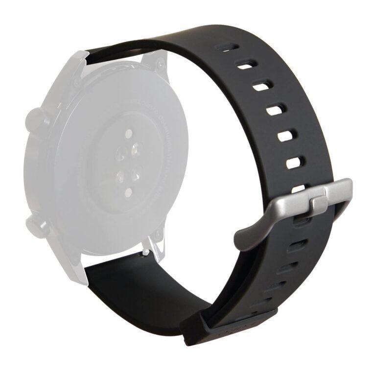 Cinturino universale Multibrand Icon nero, cassa 22 mm