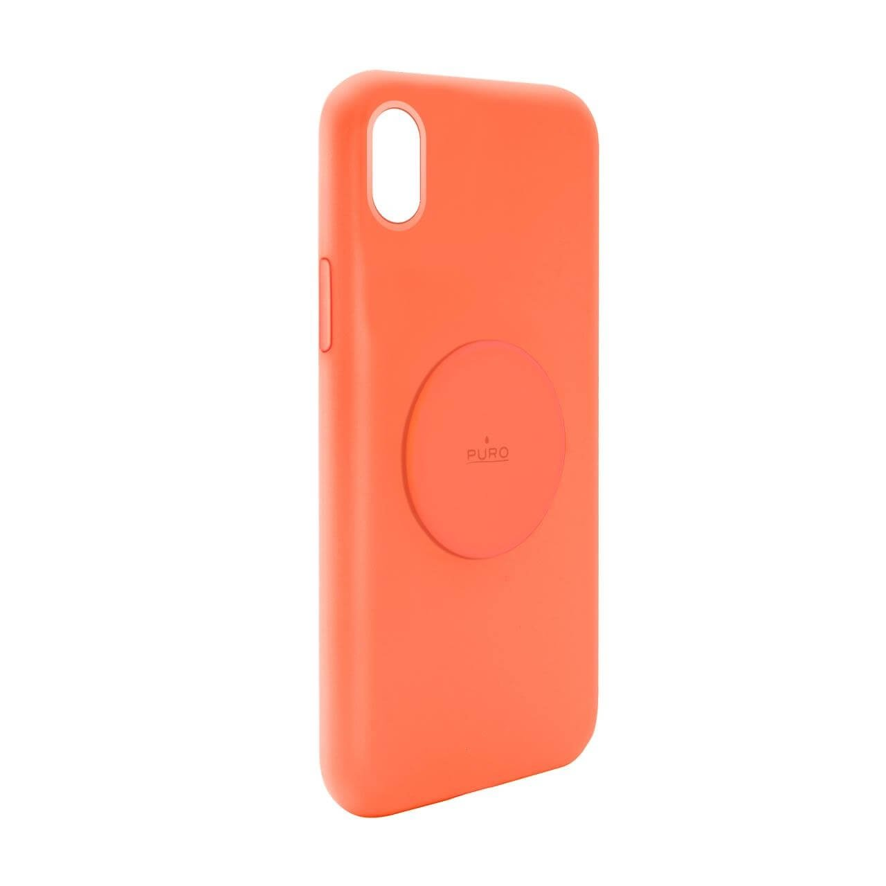 Cover Fluo ICON®+ con metal plate per iPhone Xr-0