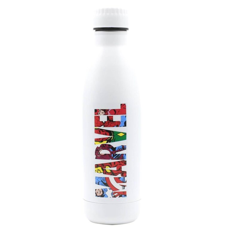 Bottiglia ©Marvel bianca logo colorato 750 ml-0