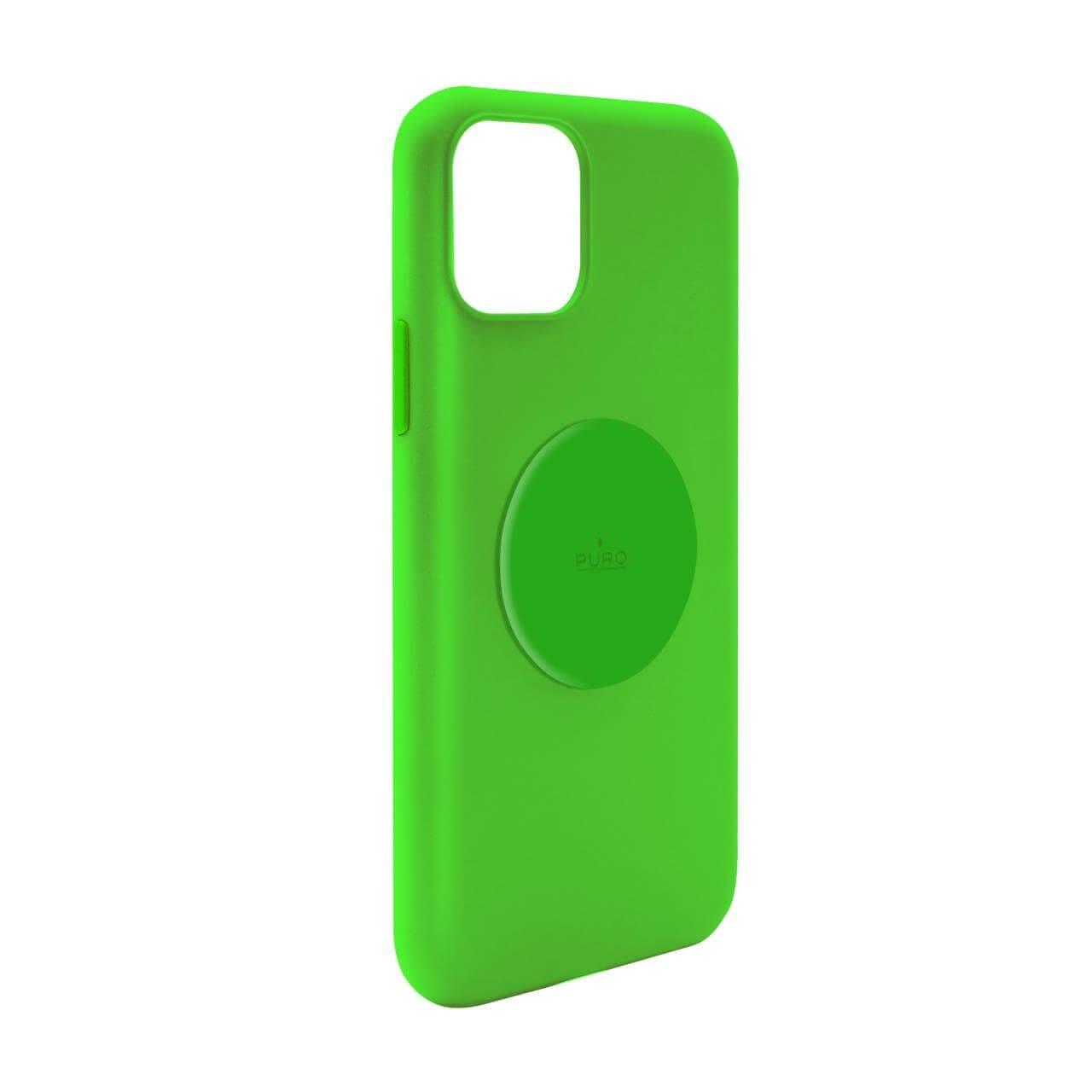 Cover Fluo ICON®+ con metal plate per iPhone 11-0