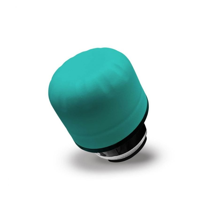 Personalizza la tua bottiglia termica con il tappo colorato | Puro Verde Scuro