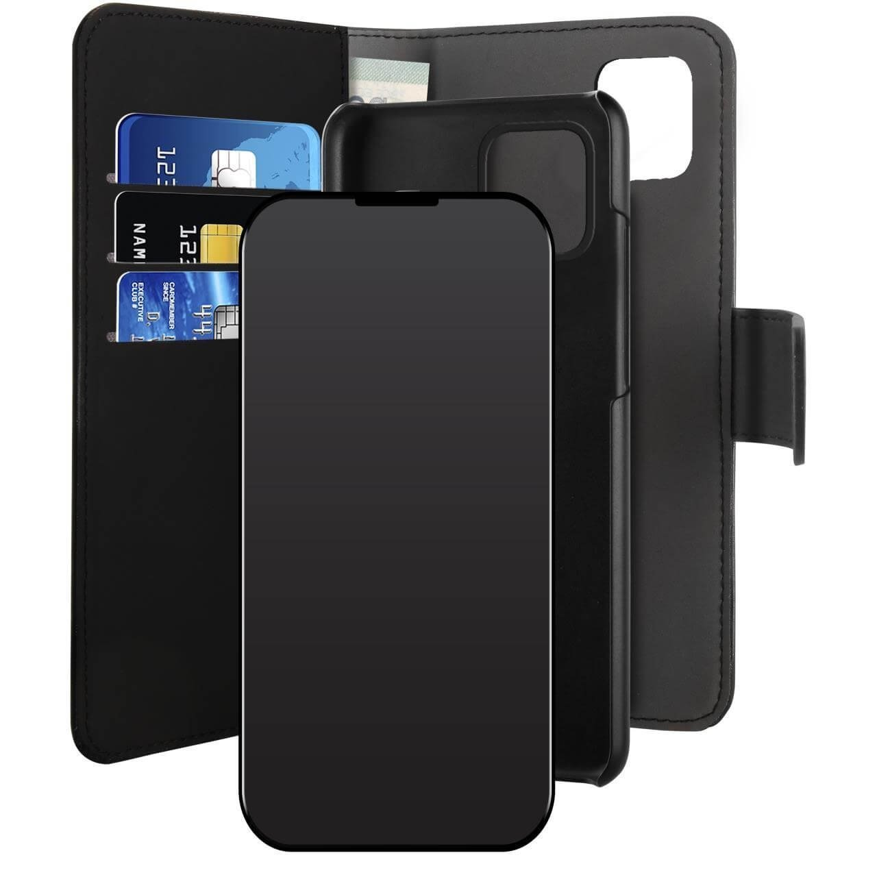 Custodia Detachable 2 in 1 Wallet per iPhone 12 Pro Max-0