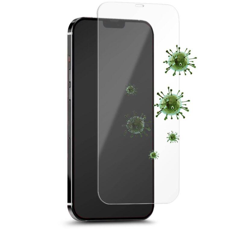 Vetro Temperato Antimicrobico per iPhone 12 Pro Max-0
