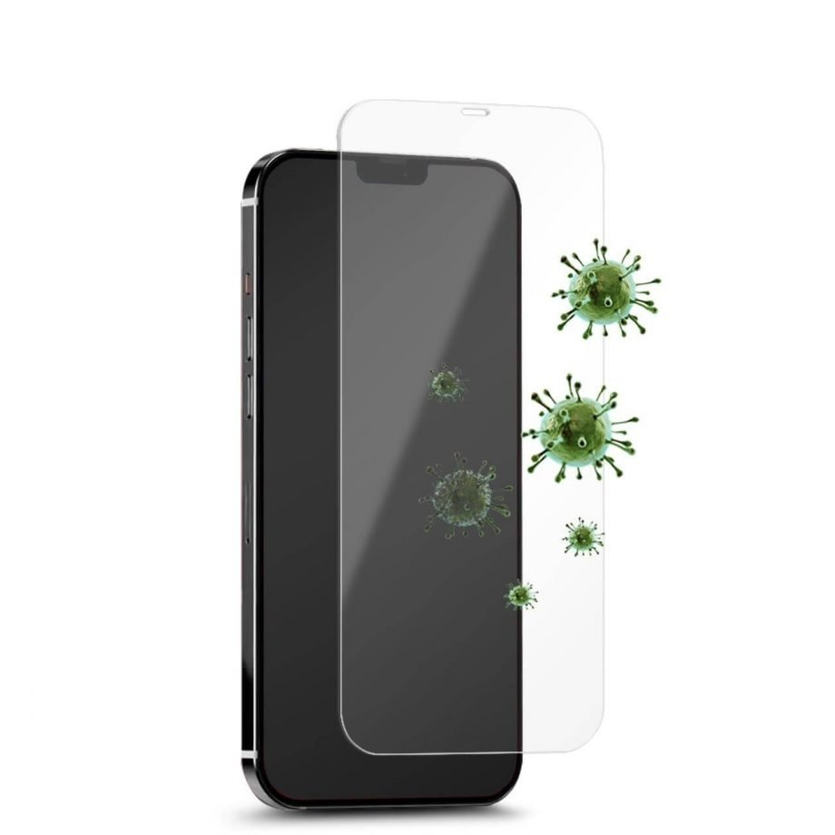 Vetro Temperato Antimicrobico per iPhone 12 Mini-0
