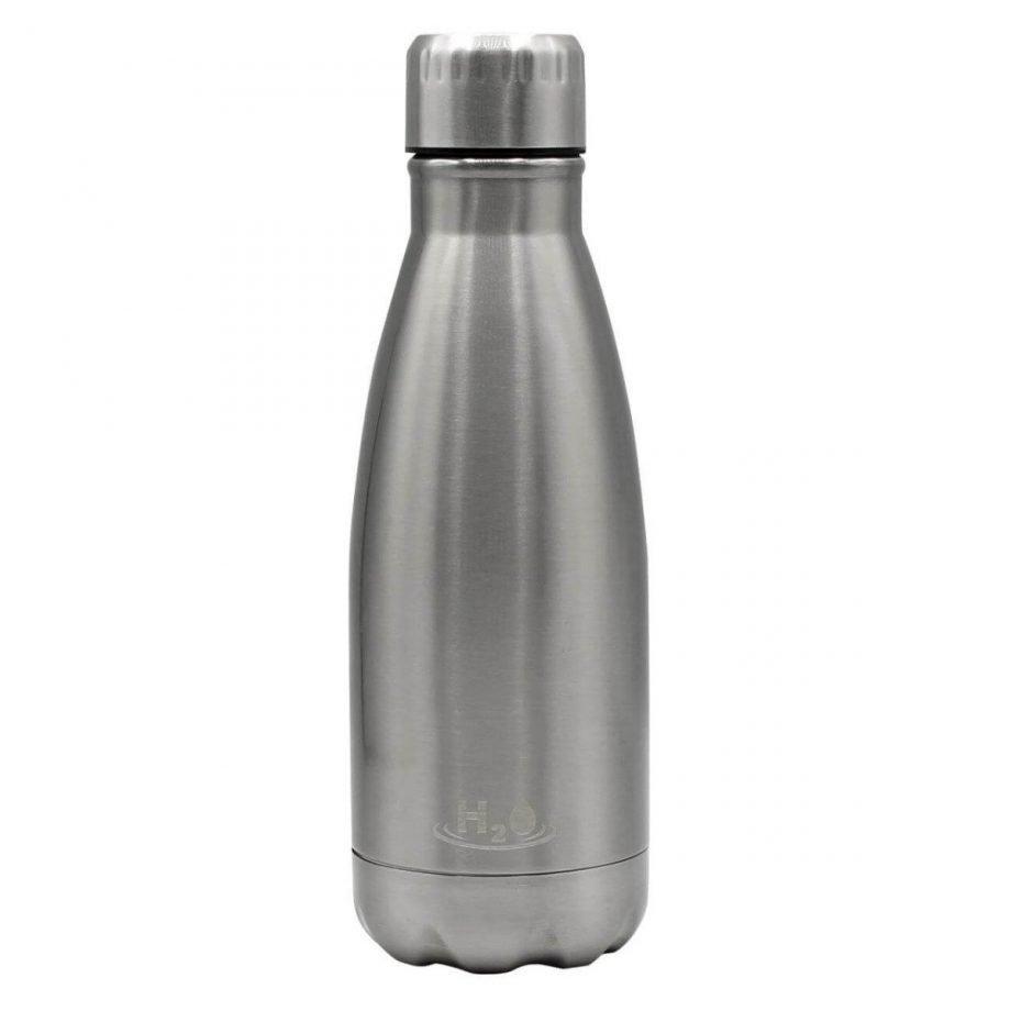 Bottiglia riutilizzabile H2O Single Wall 500 ml Steel-0