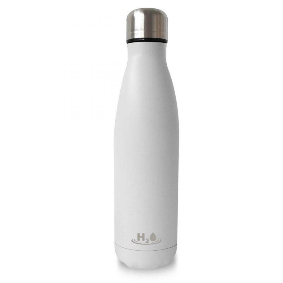 Puro - Bottiglia riutilizzabile H2o single wall 750ml bianca