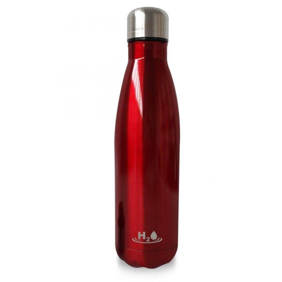 Puro - Bottiglia riutilizzabile H2o single wall 500ml bianca